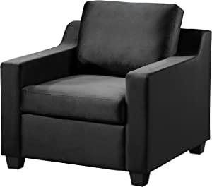 "Glory Furniture Ashley , Black Chair, 32"" H X 32"" W X 32"" D"