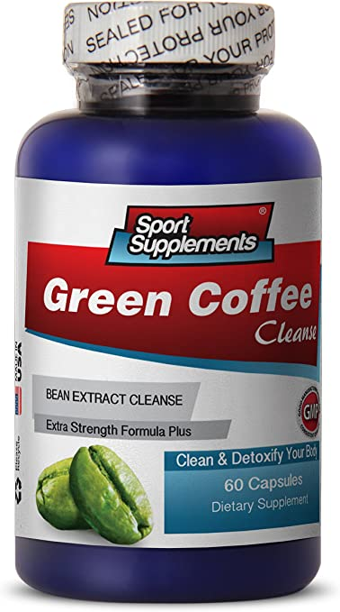 Amazon Com Pure Green Coffee Cleanse Green Coffee Cleanse 400mg Promote Weight Loss And Metabolism Boost