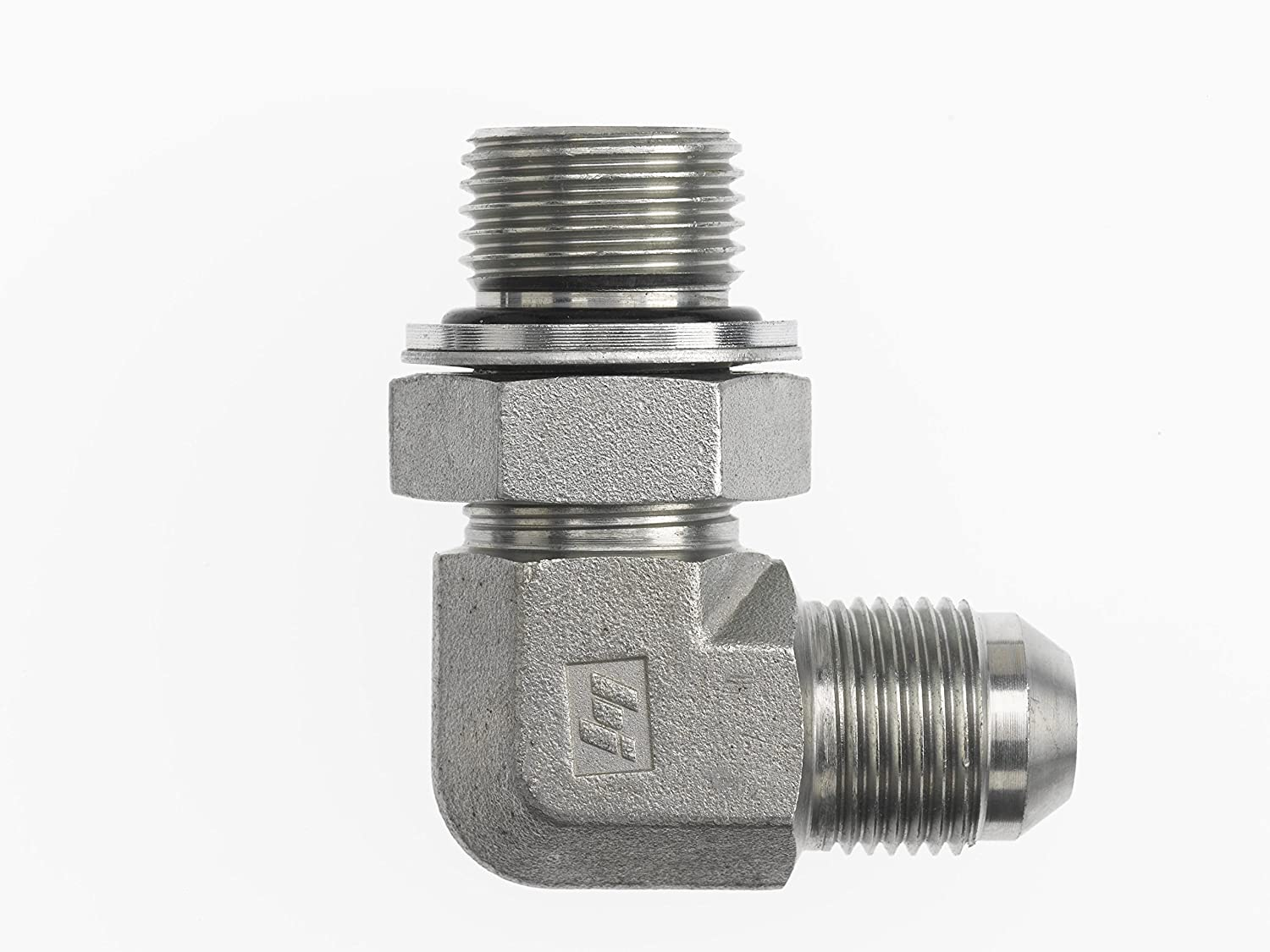 1-1/16-12 Male JIC x 1/2-14 Male BSPP Swivel Adjustable 1-1/16-12 Male JIC  x 1/2-14 Male BSPP Swivel Adjustable Inc. Brennan Industries  7202-12-08-NWO-FG Forged Steel 90 Degree Elbow Conversion Adapter Fitting  Tube Fittings Fittings