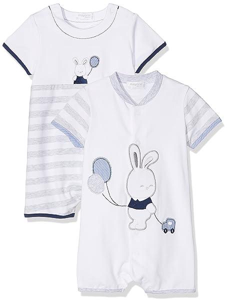 Mayoral 1720, Conjuntos de Pijama para Bebés, Gris (Perla Vig 24),