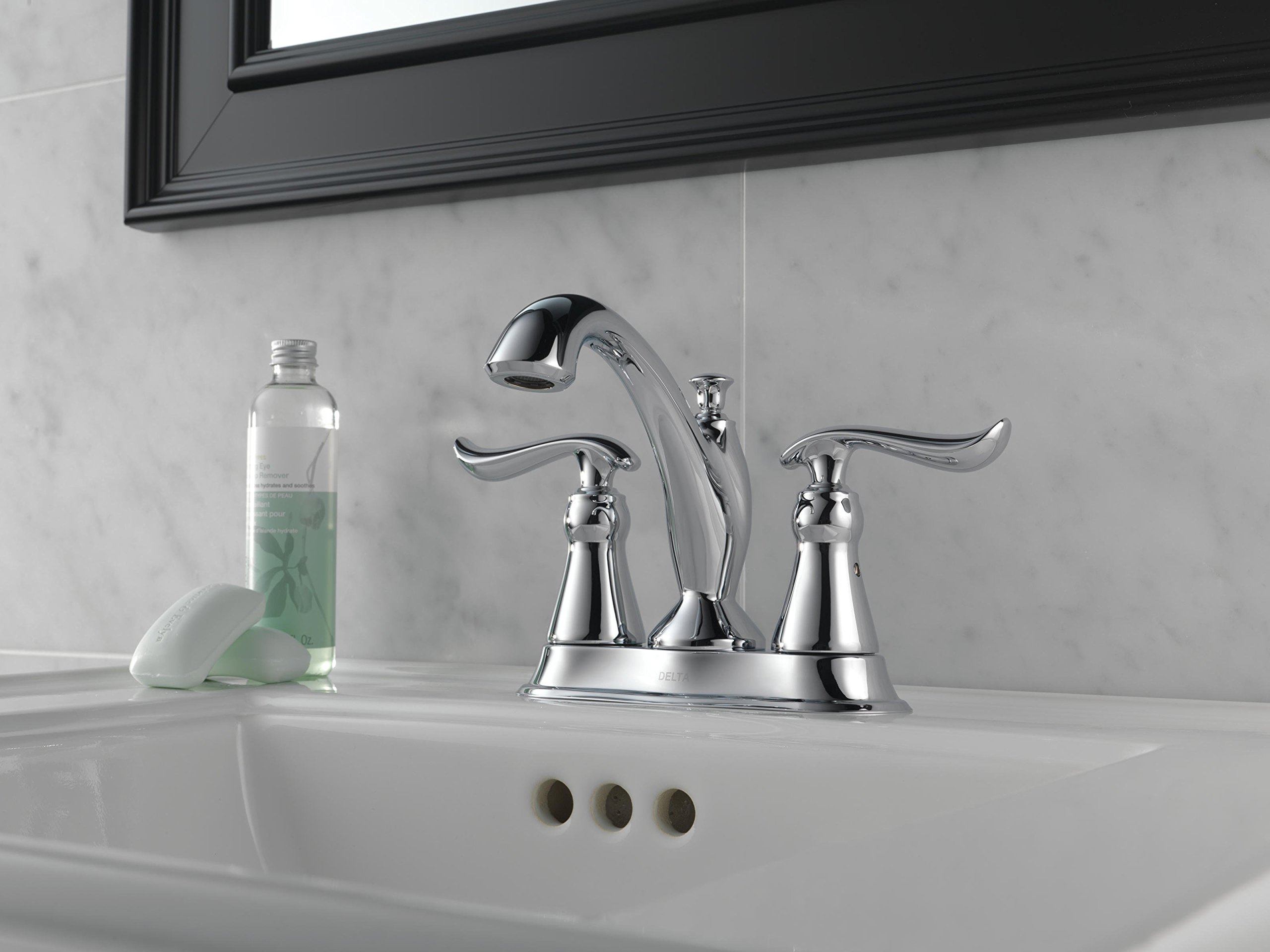Delta Linden 2-Handle Centerset Bathroom Faucet with Diamond Seal Technology and Metal Drain Assembly, Chrome 2594-MPU-DST by DELTA FAUCET (Image #5)
