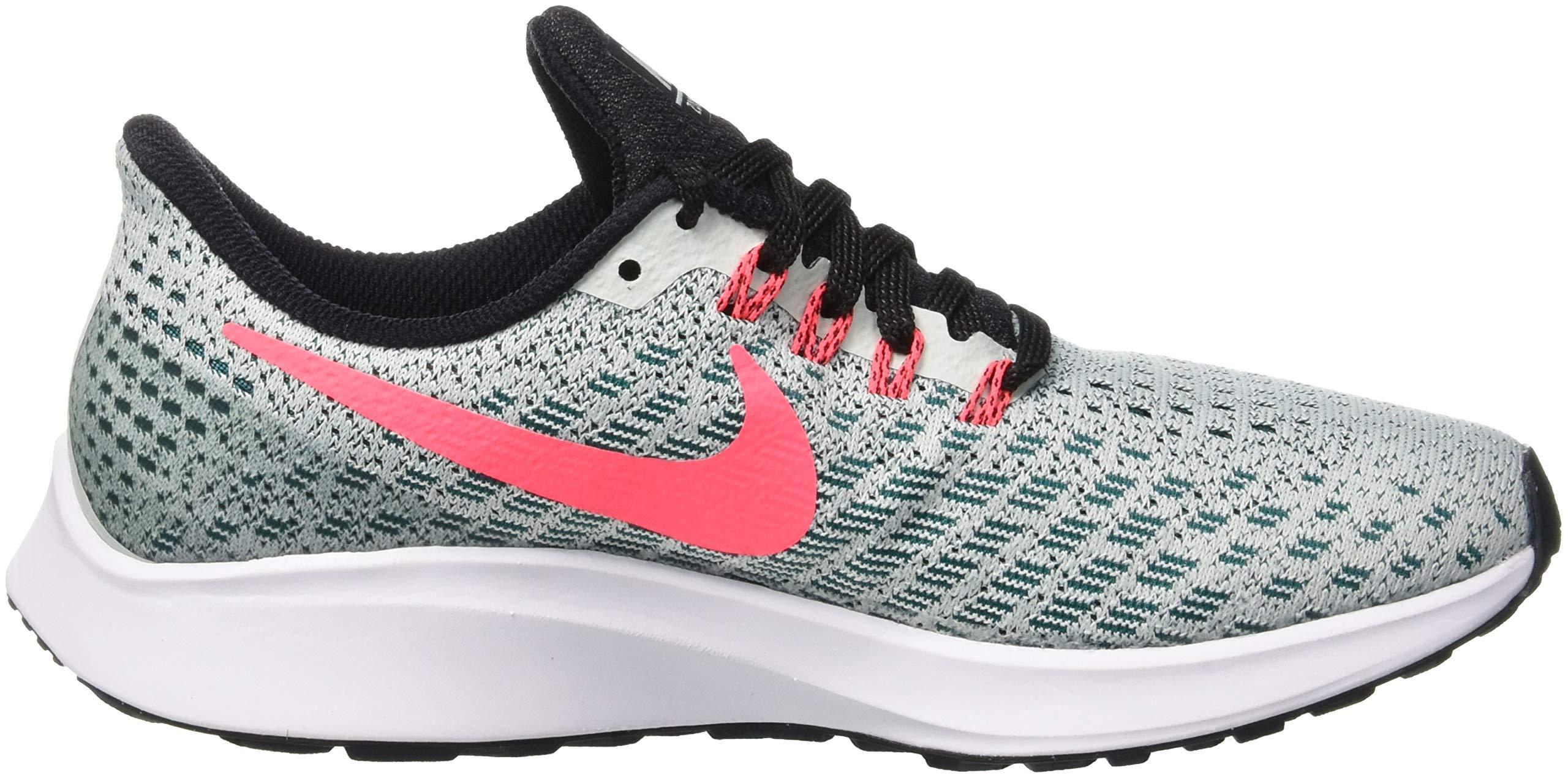 Nike Air Zoom Pegasus 35, Women's Running, Multicolored (Barely Grey/Hot Punch/Geode Teal/Black 009), 4 UK (EU) by Nike (Image #7)