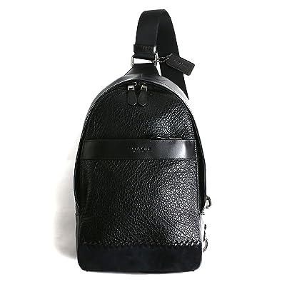 6247086b051e [コーチ]COACH OUTLET バッグ ショルダーバッグ F11236 QBBK アウトレット メンズ 斜め掛け 黒 ブラック