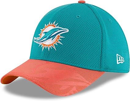 Sideline Away Miami Dolphins New Era 39Thirty Cap