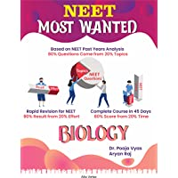 NEET Most Wanted Biology: 40 Day Revision Plan For NEET & AIIMS