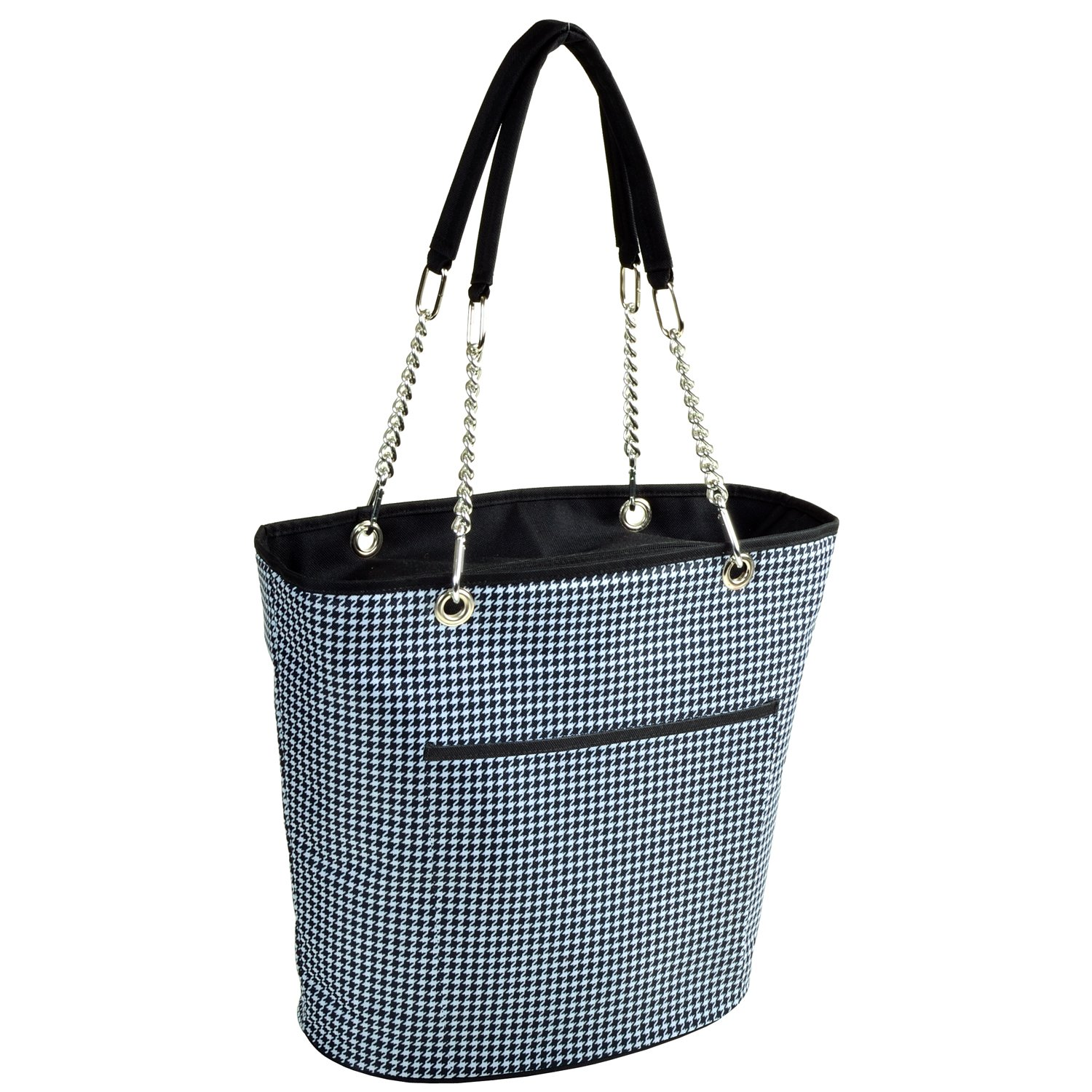 Picnic at Ascot 422-HTInsulated Cooler Tote , Medium-Houndstooth