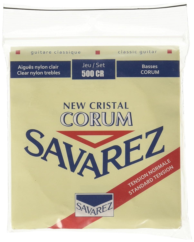 Savarez Strings 500CR Cristal Corum Classical Guitar String Set