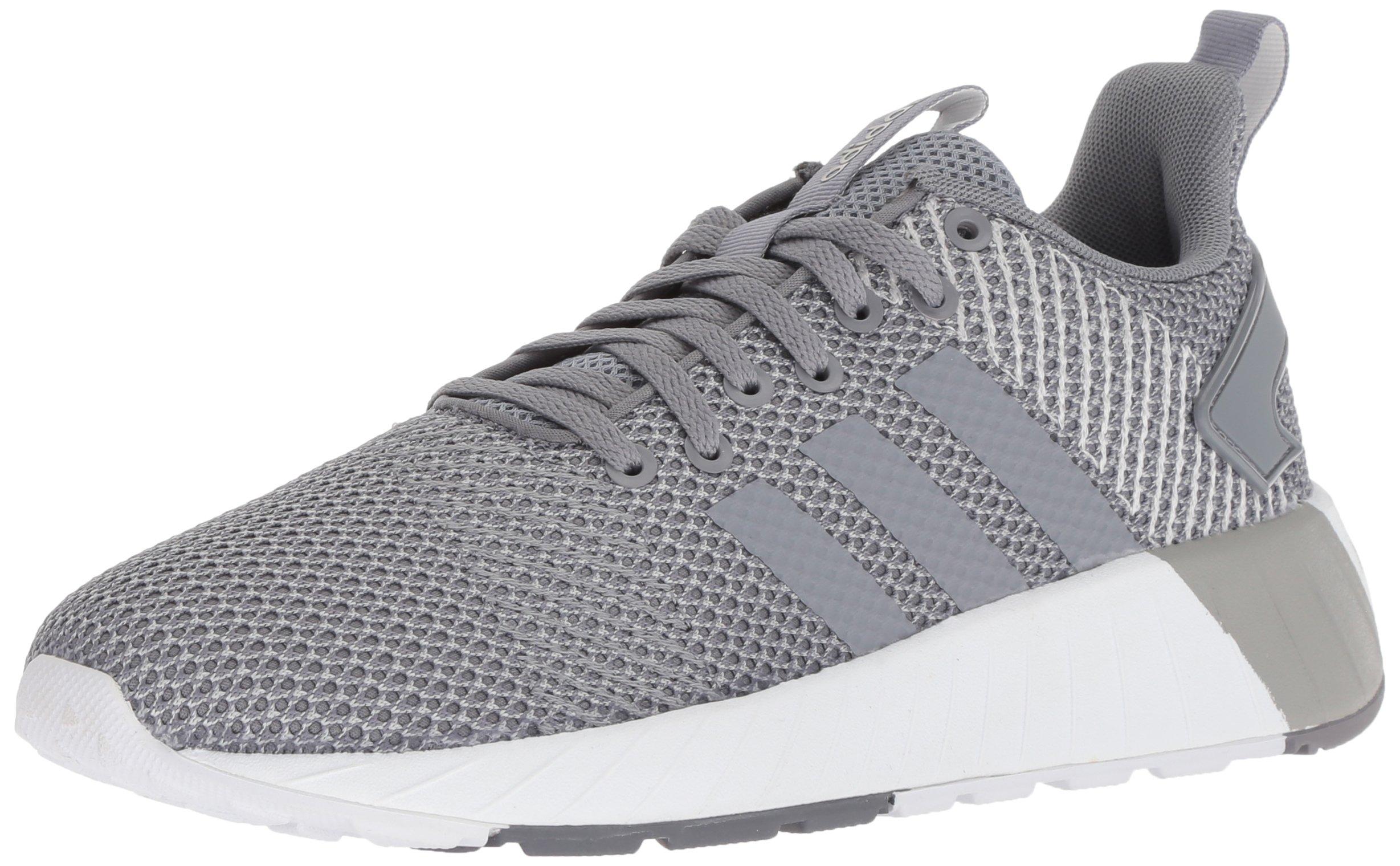 adidas Men's Questar BYD Running Shoe, Grey/Cloud White, 6.5 M US