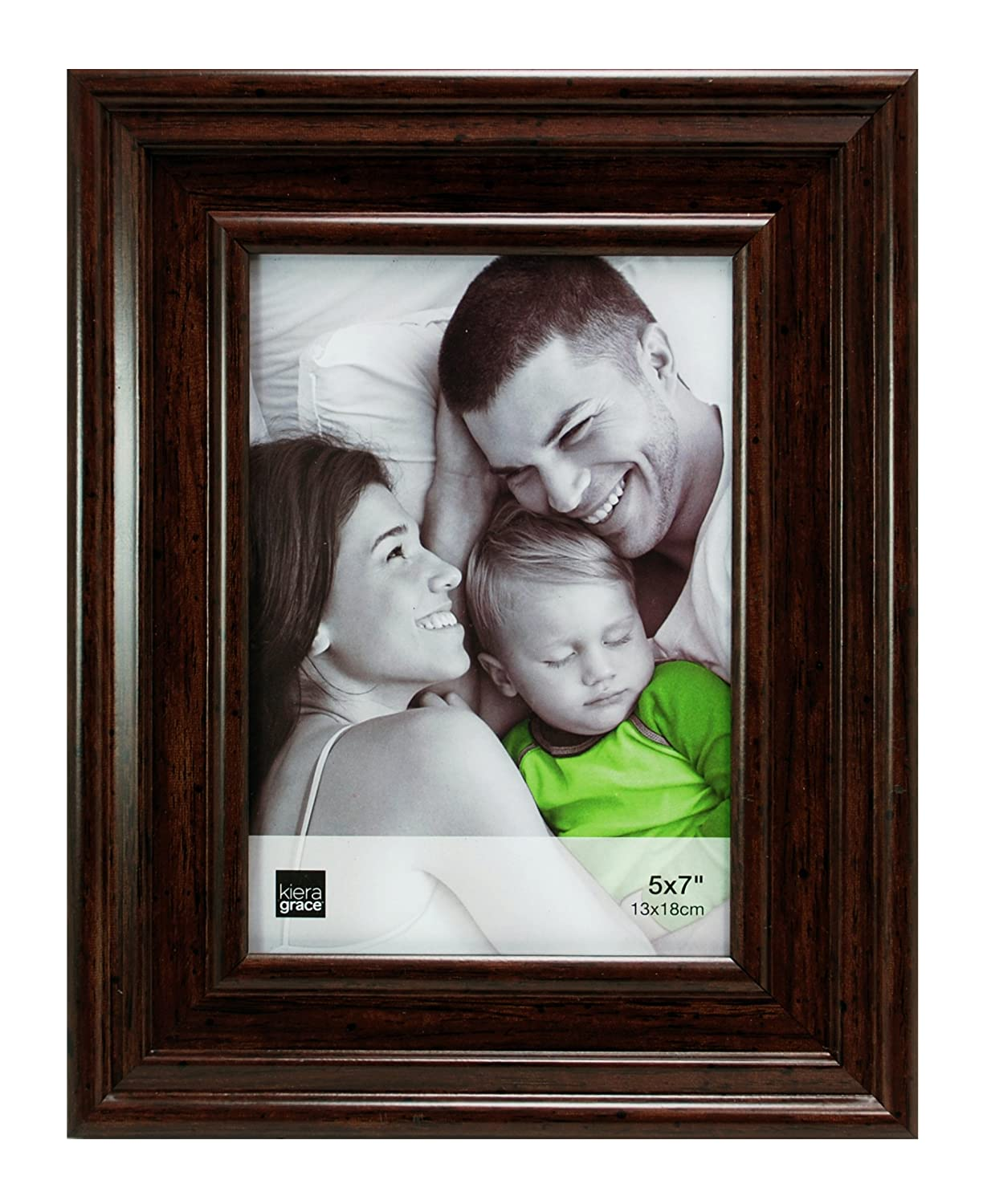 Amazon kiera grace cole picture frame 5 by 7 inch antique amazon kiera grace cole picture frame 5 by 7 inch antique walnut finish home kitchen jeuxipadfo Image collections