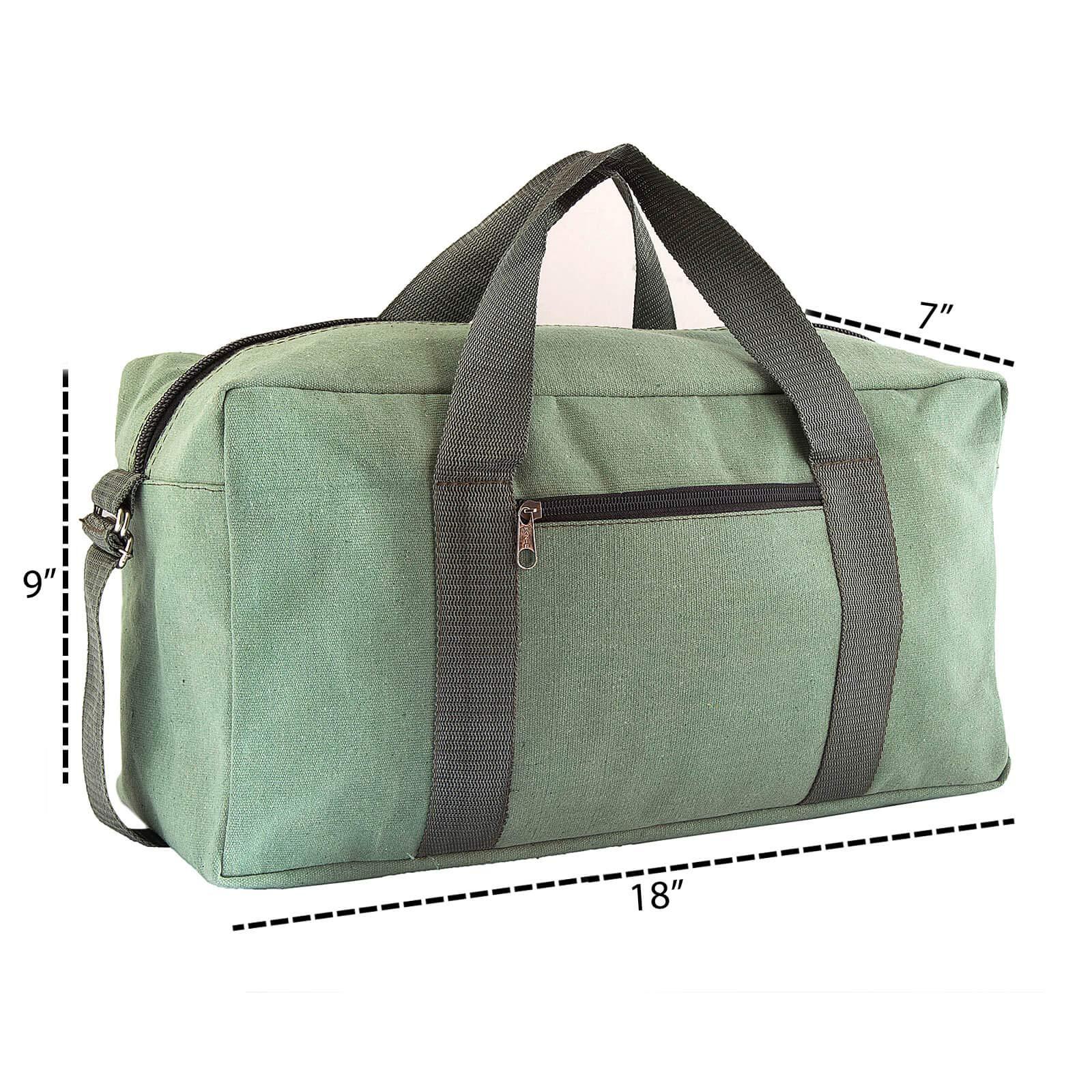 Canvas Tool Bag Heavy-Duty Large | Jumbo Mechanic Tool Bag | Tactical Tool Bag