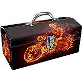 Sainty Art Works 24-034 Art Deco Ghost Rider Tool Box