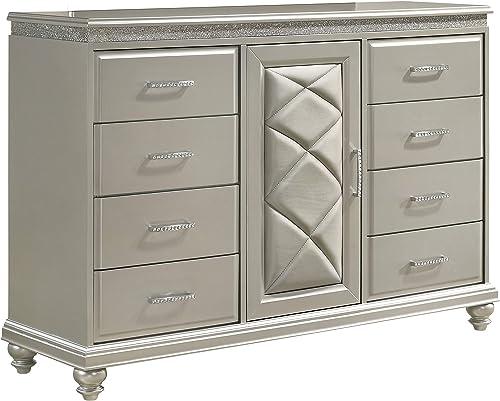 Benjara Wooden Dresser