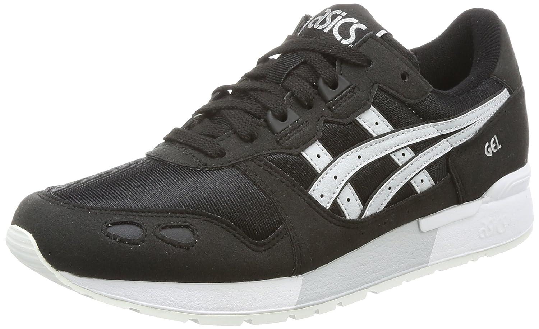 Asics Gel-Lyte, Zapatillas de Gimnasia para Hombre 45 EU|Negro (Blackglacier Grey)