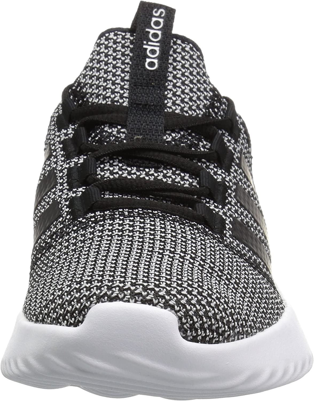 adidas Women's Cloudfoam Ultimate Sneaker Black/Black/White