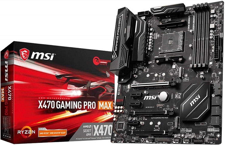 Msi X470 Gaming Pro Max Amd Am4 Ddr4 M 2 Usb 3 2 Gen 2 Computers Accessories