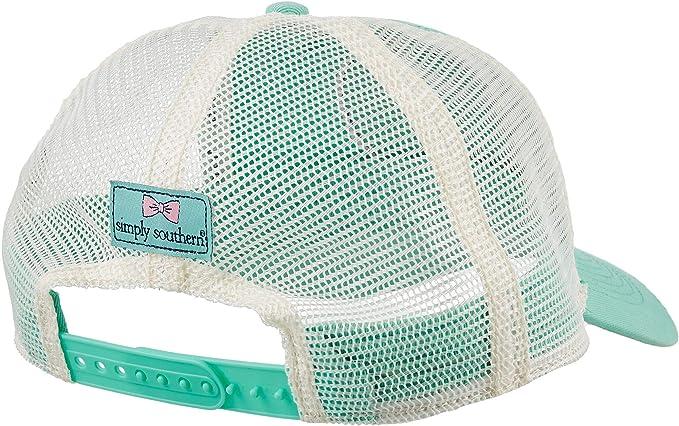 Amazon.com   Simply Southern Women s Salty But Sweet Trucker Hat ... dbcf2259c68c