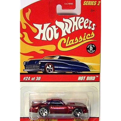 Hot Wheels Classics Series 2 # 24 of 30 Red Spectraflame Hot Bird Firebird: Toys & Games