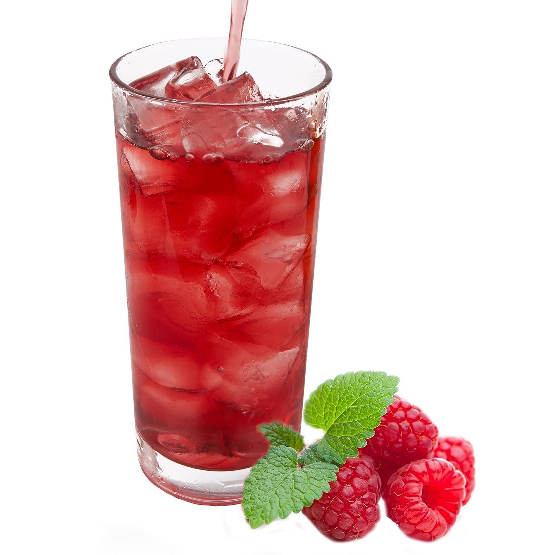 Himbeer Geschmack extrem ergiebiges Getränkepulver für ...