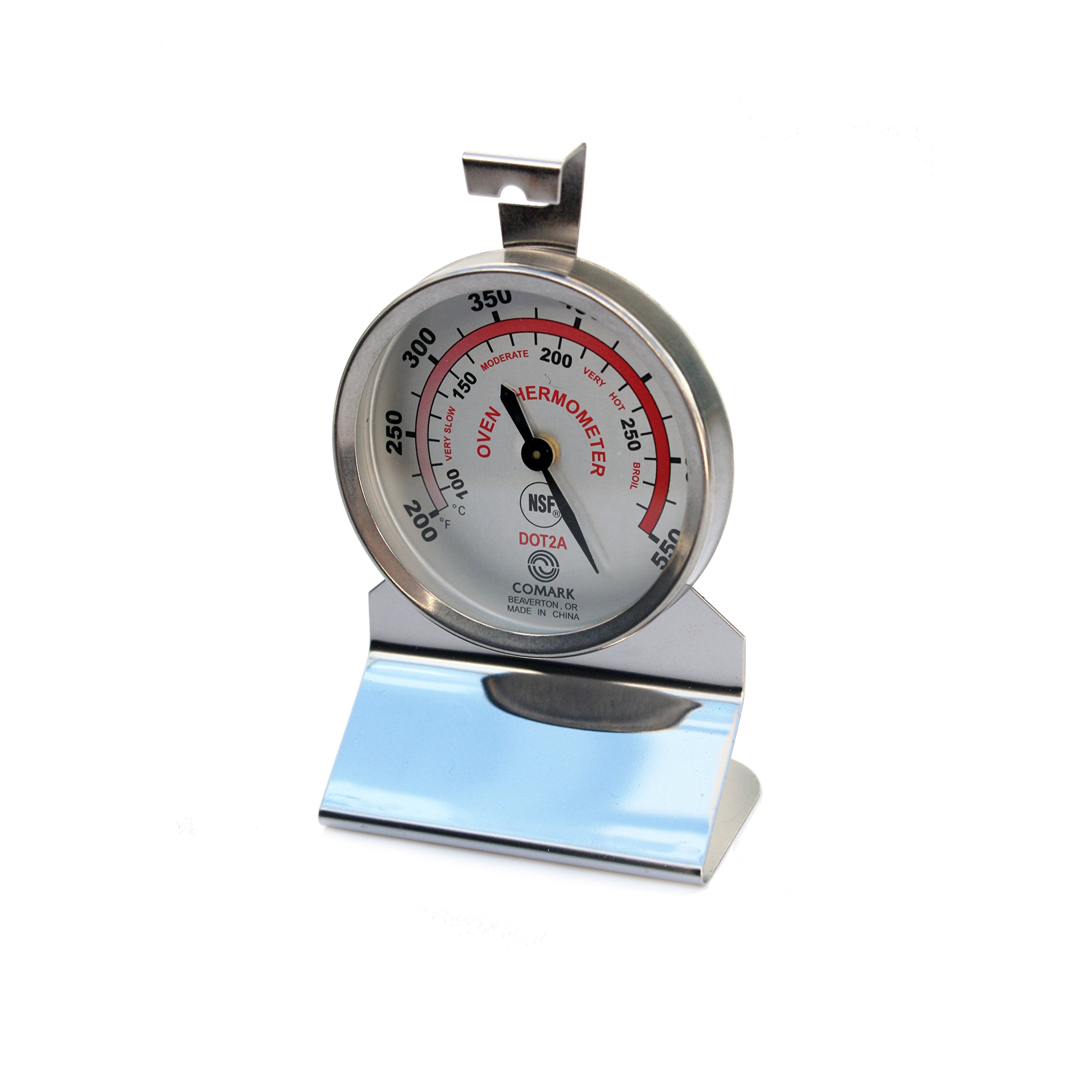 Comark Instruments | DOT2AK | Stainless Steel Dial Oven Thermometer