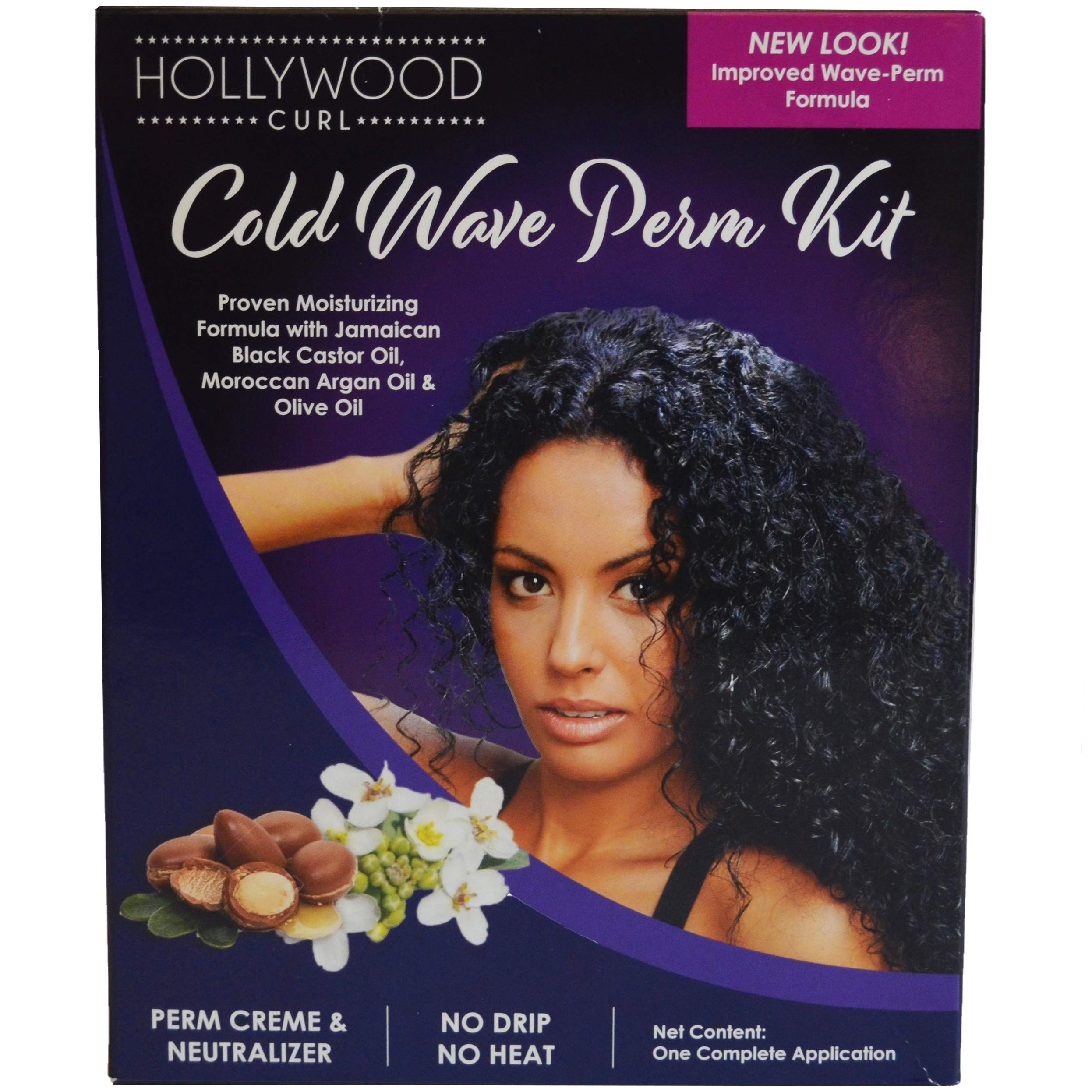 Hollywood Curl Cold Wave Solution Kit-Hollywood Perm Kit