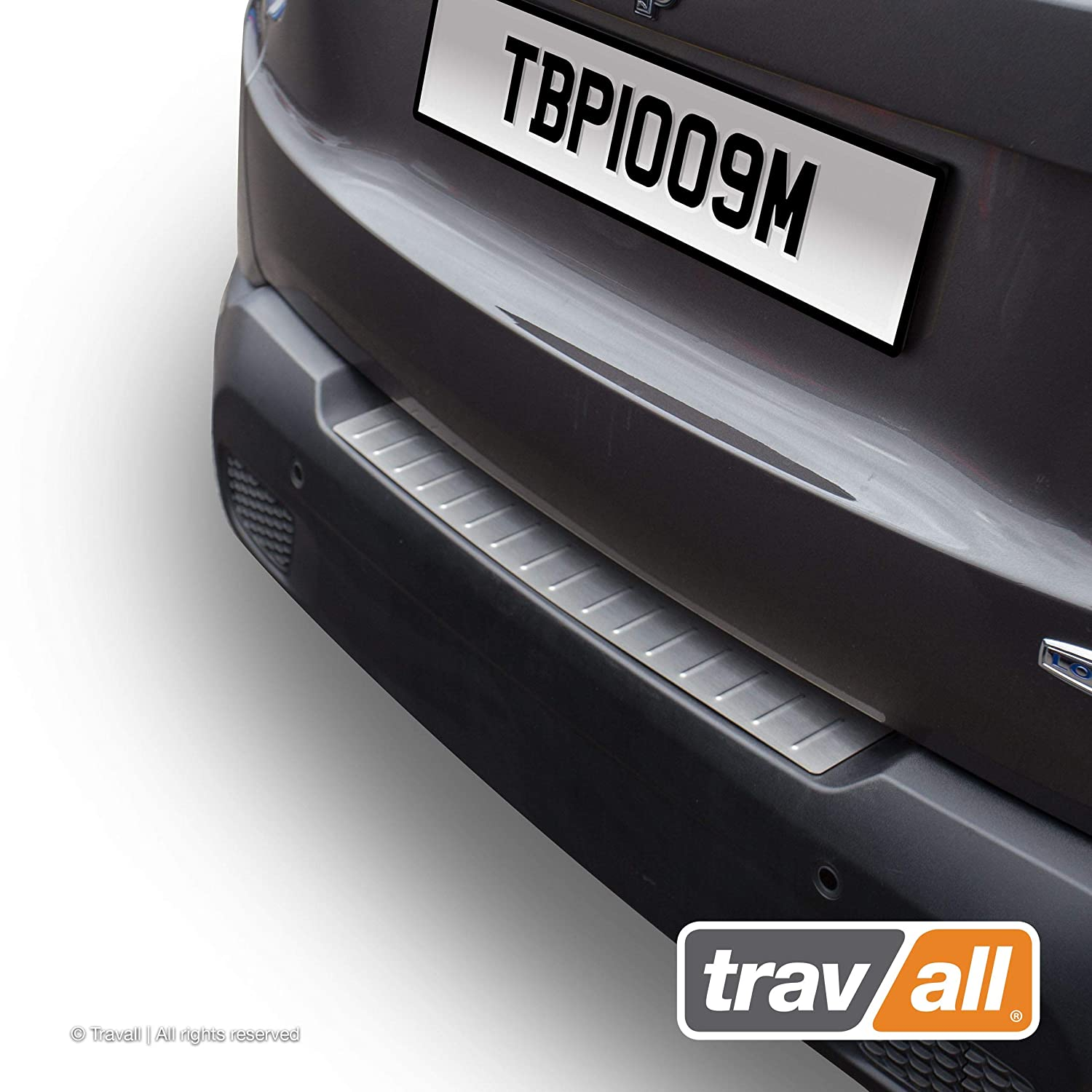 Plastic Bumper Protector TBM1074P Travall Protector Compatible with BMW X3 2014-2017