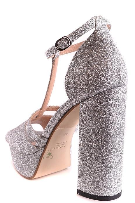 Pinko Sandali Donna GAMAYZZF Glitter Argento  Amazon.it  Scarpe e borse 70e10708b6a