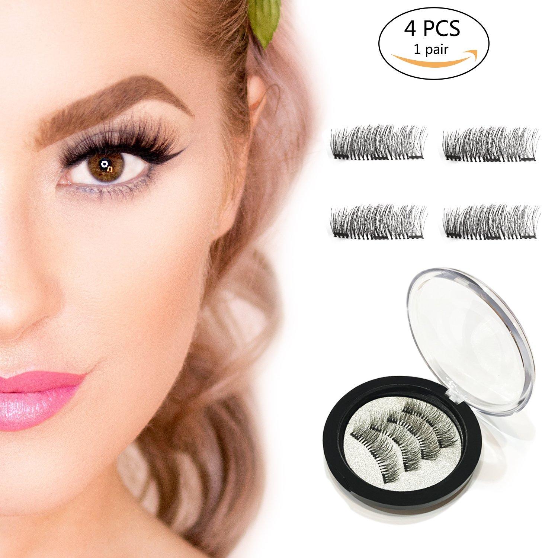 Amazon Meijiada Magnetic Eyelashes No Glue Dual Magnets