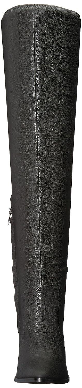 Calvin Klein Women's Catia Over The Knee Boot B073VXXQ7Z 7.5 B(M) US Black Stretch Pebbled