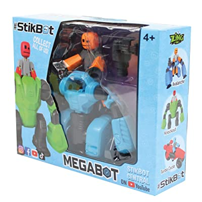 Zing StikBot MegaBot Avalanche: Toys & Games