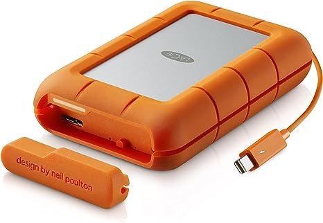 LaCie - Rugged Raid 4 TB (2 x 2 TB) Thunderbolt Plus USB 3.0 ...