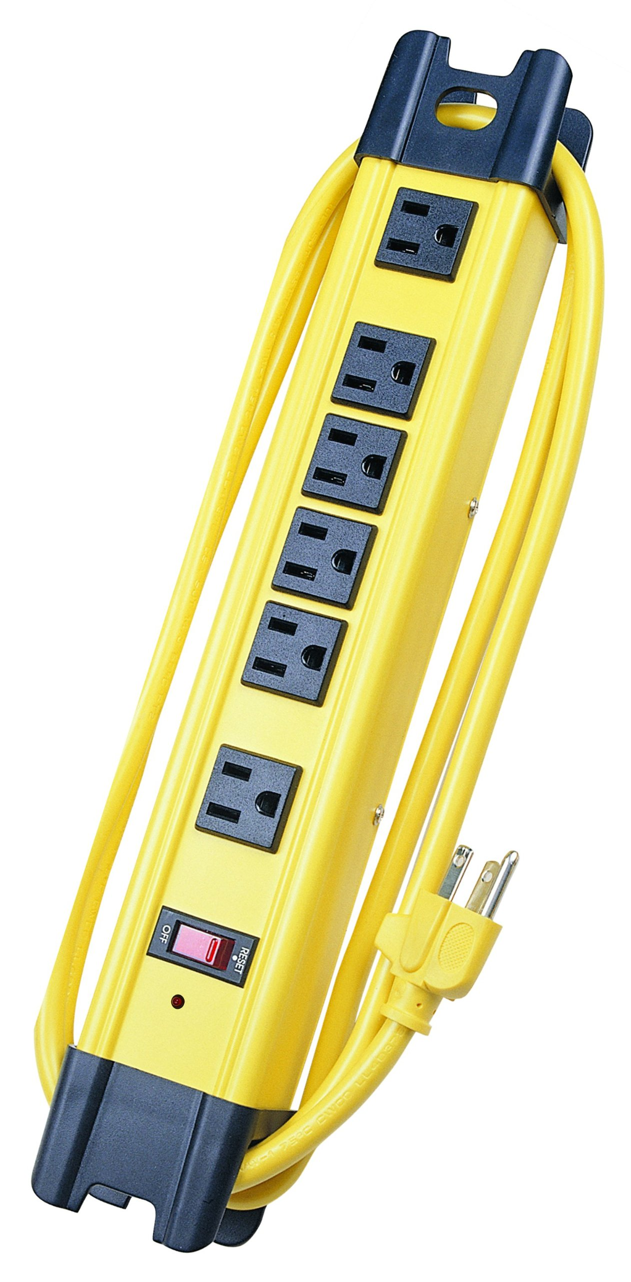Voltec Industries 11-00226 6-Outlet Surge Metal Strip by Voltec Industries