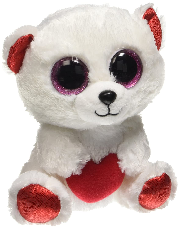 Amazon.com  Ty Beanie Boo - Cuddly Bear The Polar Bear 6