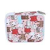 Teamoy Crochet Hook Case, Organizer Zipper Bag with