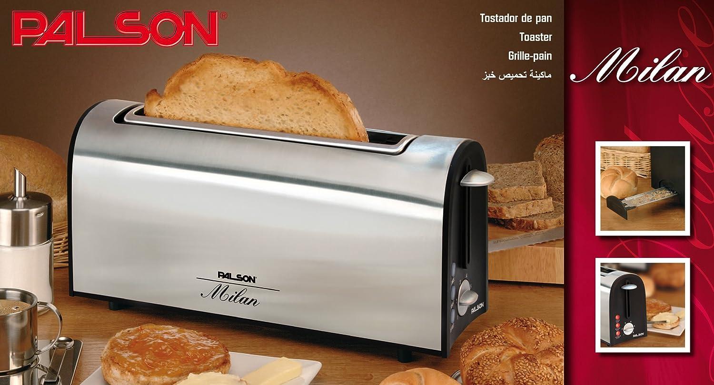Palson 30505 Tostador, Acero Inoxidable