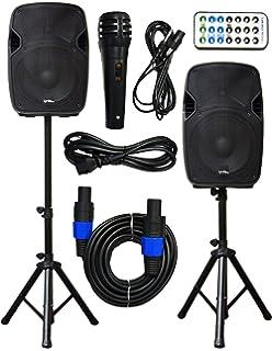 Amazon.com: MUSYSIC MU-PRE2H Professional Audio Sound Processor ...