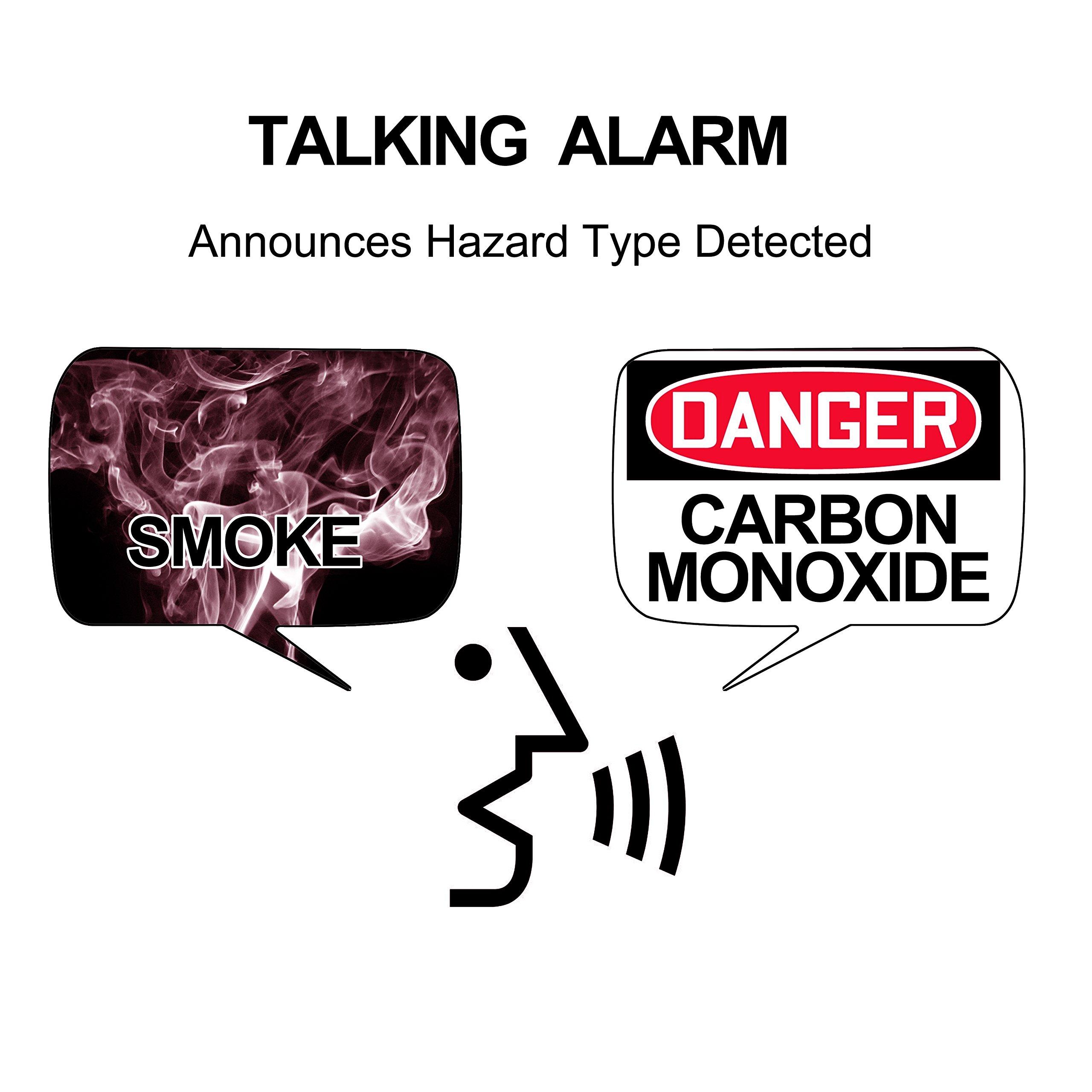 Worry-Free Hardwired Smoke & Carbon Monoxide Alarm with Lithium Battery Backup I12010SCO by Kidde (Image #3)