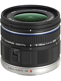 Olympus M ED 9-18mm f/4.0-5.6 micro Four Thirds Lens for Olympus and Panasonic Micro Four Third Interchangeable Lens...