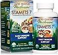 Host Defense, Stamets 7 Capsules, Daily Immune Support, Mushroom Supplement with Lion's Mane, Reishi, Vegan, Organic, 120 Capsules (60 Servings)