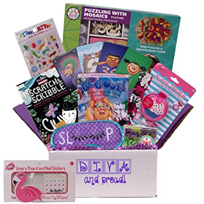 Beyond Bookmarks Diva & Proud Gift Box, Care Package or Birthday Gift for Girls: Toys & Games