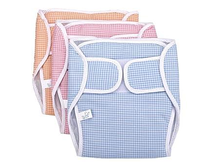 f9b4210883d2 Buy Goodstart Reusable Cotton Strap Baby Diapers - Set Of 3 ...