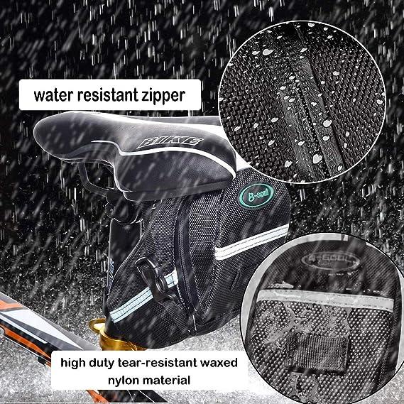 Amazon.com: BYPA - Bolsas para bicicleta bajo el asiento ...