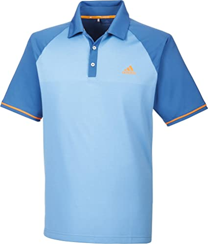 adidas Climacool Athletic Raglan Polo de Golf, Hombre: Amazon.es ...