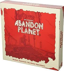 Abandon Planet Board Game