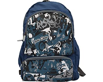 419ccd9b1790 Polo Classic Cool Polyester- Sport School Backpack - Blue  Amazon.in ...