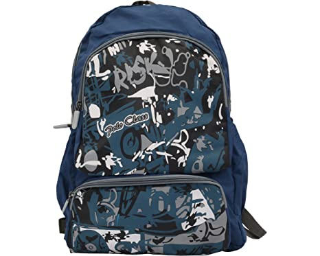 Polo Classic Cool Polyester- Sport School Backpack - Blue  Amazon.in  Bags 031948897559f