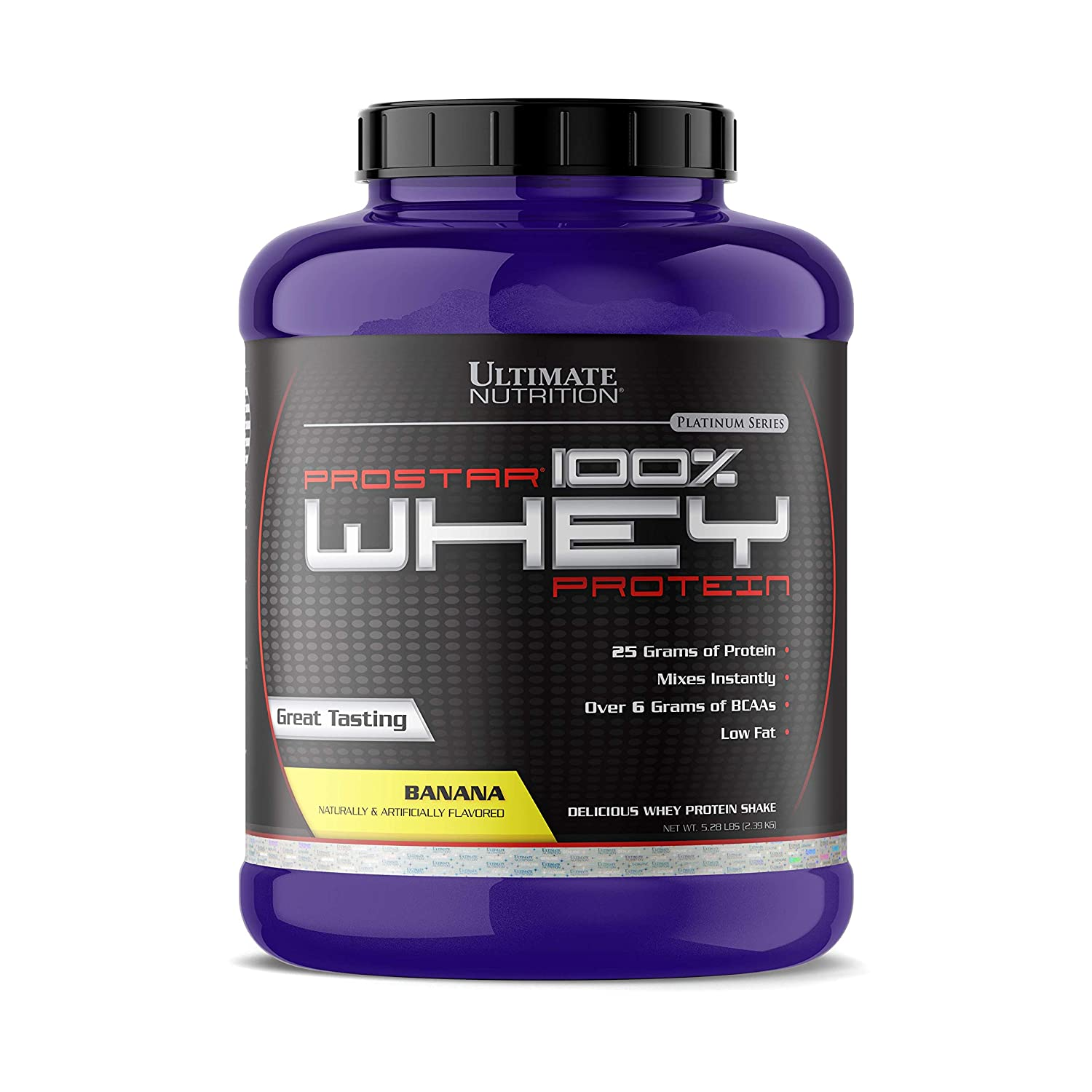 cad73e2bf Amazon.com  Ultimate Nutrition Prostar 100% Whey Protein Powder - Low Carb