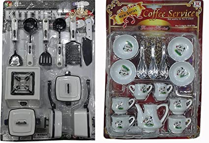 Buy Gifts Collection 22 Peices Kids Kitchen Set For Girls With Cup