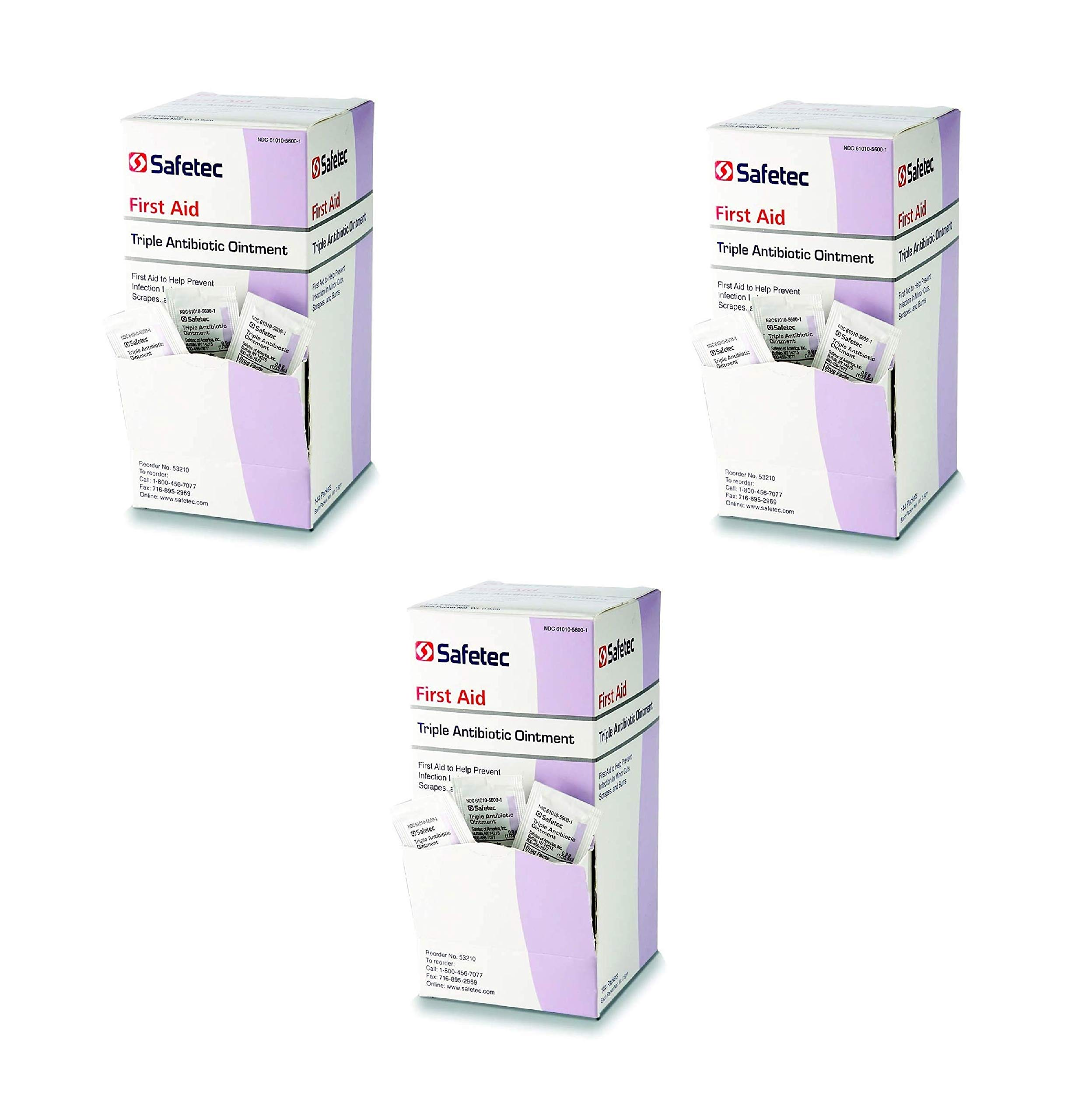 Triple Antibiotic, 144 Count (3 Pack) by Safetec (Image #1)