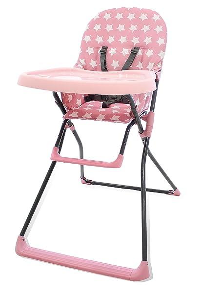 Amazon.com: Asalvo 13347 Stars - Silla alta, color rosa ...