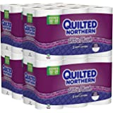 Quilted Northern Ultra Plush Toilet Paper MIsCdQ, 4Pack (48 Double Rolls)